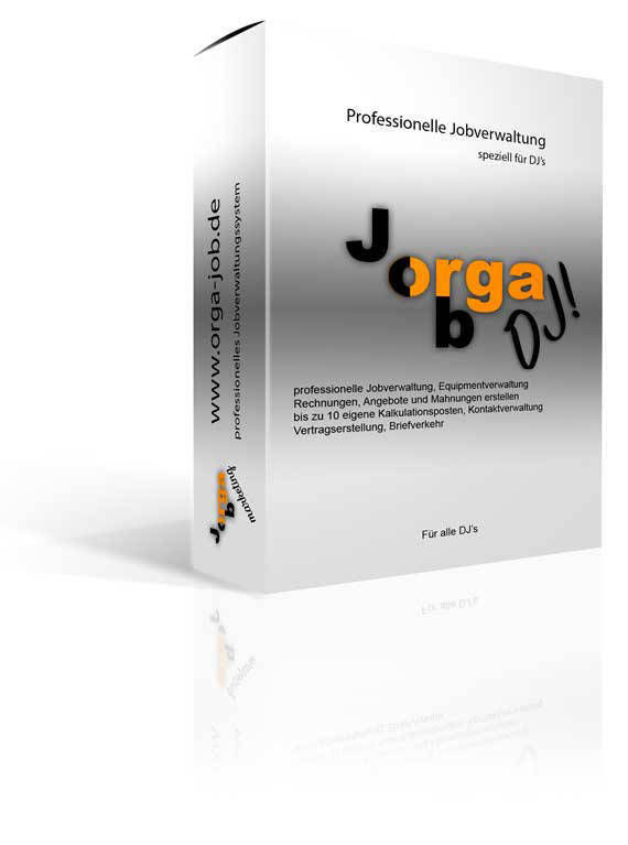 Orga-Job::marketing Professionelle Jobverwaltung für Bands. musiker und DJ's